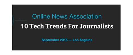 Journalisme web : 10 tendances pour 2016 | Meta-media | La révolution de l'information | Rédaction web, contenu pour le web | Scoop.it