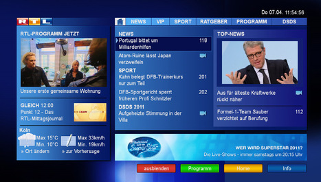 Intellect launches UK trial HbbTV spec | HbbTV | Scoop.it