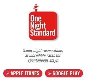 Verzweifelte Versuche für mehr Direktbuchungen: US-Hotels starten eigene App für spontane Zimmerreservierungen – One Night vs. Hotel Tonight | eTourism Trends and News | Scoop.it