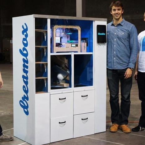 3D Printing Coming to Vending Machine Near You | Exploded Stories | Scoop.it