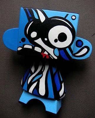 The C215 Team | The Blue Project 2006 | Toys | les Artistes du Web | Scoop.it