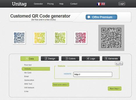 QR Unitag QR Code con color, degradado, orientación e inserción de logos | VIM | Scoop.it