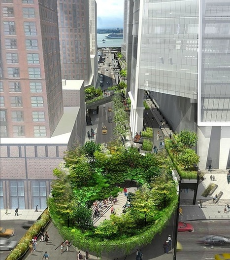 Rounded Forest Design Plans Revealed for NYC's the High Line | Le It e Amo ✪ | Scoop.it
