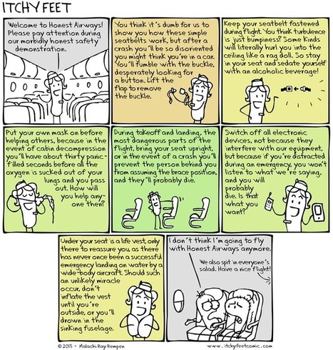 Itchy Feet: A Travel and Language Comic | Resources | Scoop.it