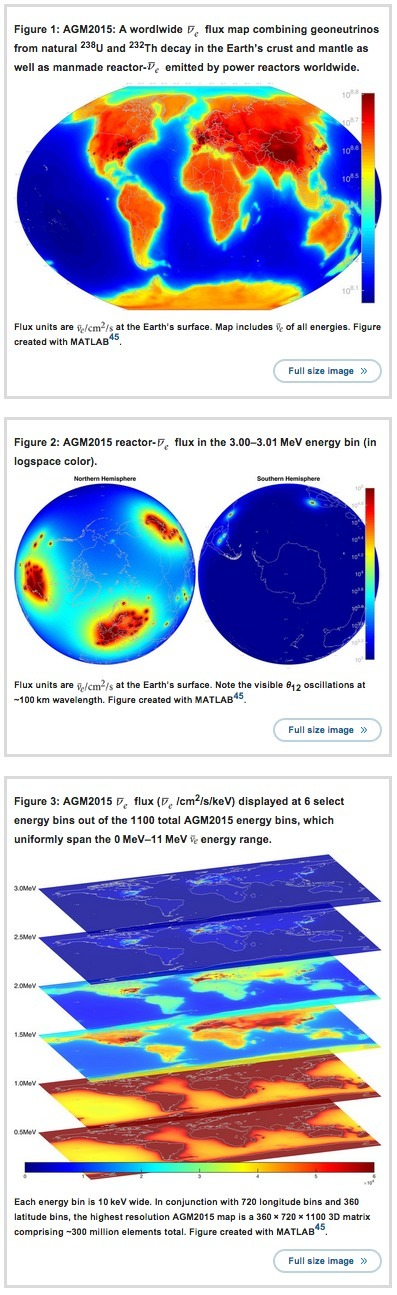 AGM2015: High-Precision Antineutrino Global Map 2015 | Amazing Science | Scoop.it