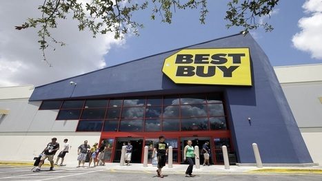 Best Buy Sales Fall As Customers Keep Shopping Online - Forbes | Human Resources for Sales Organizations | Scoop.it