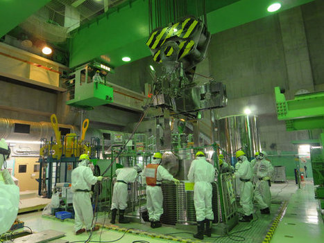 New Video Shows TEPCO's Fuel Rod Extraction Process > ENGINEERING.com | Daily Magazine | Scoop.it