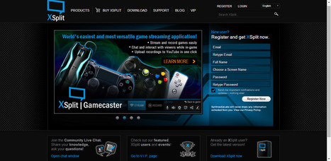 Xsplit GameCaster-Game Recording and Live Broadcasting Software | TecappVault | Scoop.it