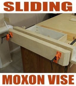 How To Make A Sliding Moxon Vise | Aspiring Woodworker | Scoop.it