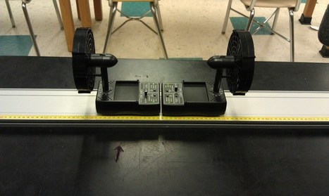 Day 25: Dueling Fan Carts | PhysicsLearn | Scoop.it