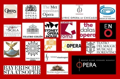 Infographic of tweeter and facebook communities of major opera houses in the world - opera-digital.com | Opera singers and classical music musicians | Scoop.it