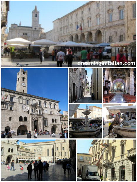 Ascoli Piceno - Dreaming In Italian | Le Marche - discover this magical part of Italy! | Scoop.it