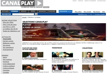 Canal + fait son stream-tease- Ecrans | Radio 2.0 (En & Fr) | Scoop.it