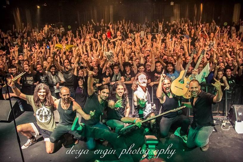 FANTASTIC, PLS RT: Israeli and Palestinian Metal Bands Unite for 'All is One' Tour -