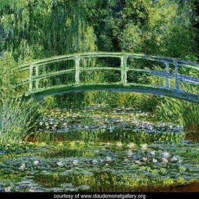 Water Lily Pond - Claude Oscar Monet - www.claudemonetgallery.org   Sociales Dani Fernández   Scoop.it