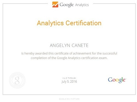 """Analyst Specialist says """"Google Analytics for the Win!""""   Who is Angelyn Canete   Pay Per Click Today   Scoop.it"""