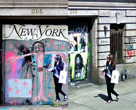 Street Ghosts project - Google Street View made Street Art and Public Concern   Strange days indeed...   Scoop.it