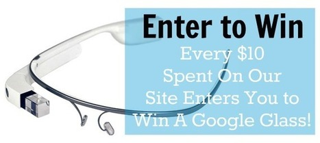 Enter to Win A Google Glass! | DiscountFilters.com | Home Tips | Scoop.it