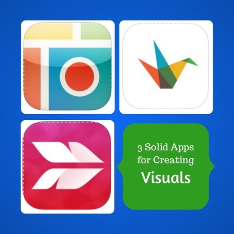 3 Solid Apps for Creating Visuals | Information for Librarians | Scoop.it