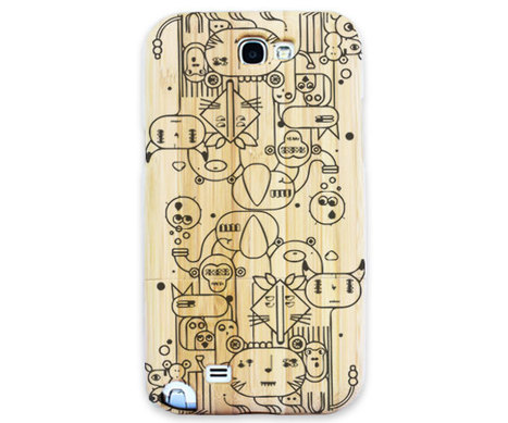 Wooden Engraved Case For iPHONE 5....<br/>www.legnocases.com | Samsung Note 2 Wooden Case | Scoop.it