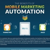 Benefits of Mobile Marketing Automation | Visual.ly | Mobile Marketing for Businesses | Scoop.it