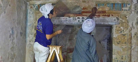 Mexican mural experts aid Egyptian tomb restoration | Égypt-actus | Scoop.it