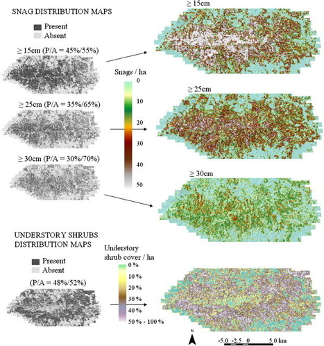 Mapping snags and understory shrubs for a LiDAR-based assessment of wildlife habitat suitability | Remote Sensing - Vegetation Classification & Condition | Scoop.it