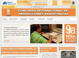 Convocatoria: 9ª. Bienal Internacional de Radio ~ El arte de hacer radio | Radio 2.0 (Esp) | Scoop.it