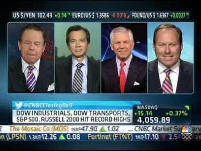 November 29th 2013 CNBC Stock Market Closing Bell (Nasdaq Composite closes at 13-year High) | Interesting Videos | Scoop.it