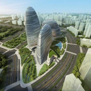 Zaha Hadid building pirated in China | Garden Buildings For Work, Rest & Play | Scoop.it