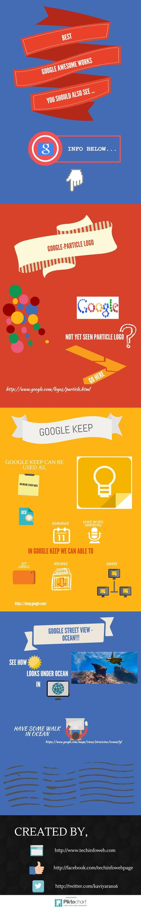 Google awesome works you should not miss | Techinfoweb | Techinfoweb | Scoop.it