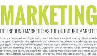 The Inbound Marketer vs. The Outbound Marketer [INFOGRAPHIC] | Web Marketing | Scoop.it