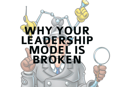 "The Most Common Leadership Model - And Why It's Broken | ""employee engagement enhancement"" 
