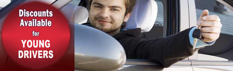 Best Tips To Get The Car Insurance for Young New Drivers with Money Saving Options | AutoInsurance | Scoop.it