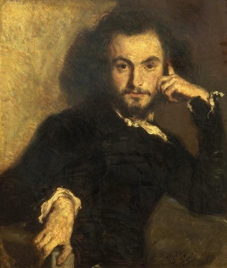 Émile Deroy-Portrait d'un jeune poète romantique-Peintres méconnus du XIXème siècle- | Artistes d'hier, maîtres d'autrefois... | Scoop.it
