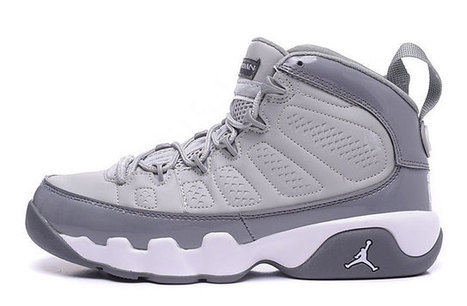 Air Jordan 9 Retro Women's Shoes white grey [womensairjordan9retro_004] - $79.99 : USA online sales and wholesale Nike shoes from China factory, www.nikeshoesalers.com | Nike Shoes | Scoop.it