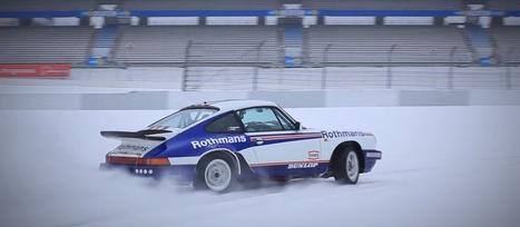 Une Porsche 911 SC RS en glisse sur le Nürburgring recouvert de neige | Voitures anciennes - Classic cars - Concept cars | Scoop.it