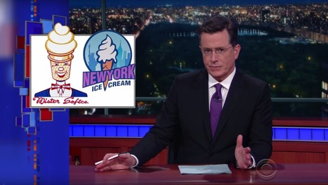 Stephen Colbert Explains NYC's Vicious Ice Cream Truck Turf War | Urban eating | Scoop.it