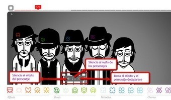 INCREDIBOX: UN DIVERTIDO JUEGO MUSICAL | Juegos Tic para Música Primaria | Scoop.it