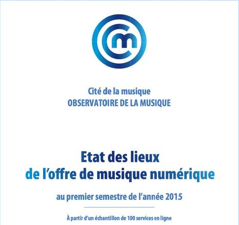 Etat des lieux de l'offre de musique numérique au 1er semestre 2015 | A Kind Of Music Story | Scoop.it