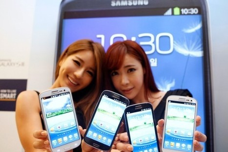Samsung Galaxy S3's 6M Units Doubles Q3 2012: Should Apple be Afraid?   Social on the GO!!!   Scoop.it