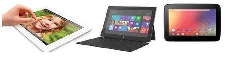 Microsoft Surface Pro Vs. Apple iPad 4 VS. Google Nexus 10: Will The Windows ... - Tech Thirsty   Tech Team Scoops   Scoop.it