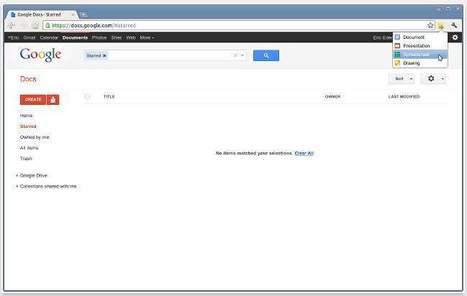 Accès accéléré à Google Docs depuis Chrome, Docs Quickly   Time to Learn   Scoop.it