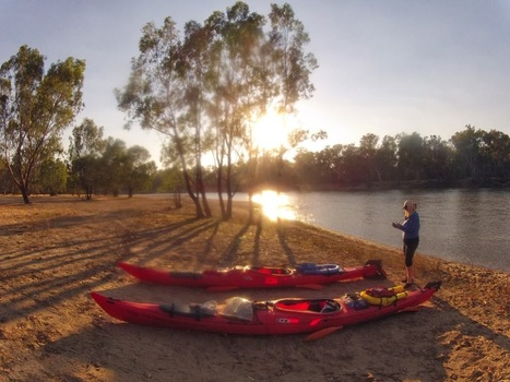 Murray River Kayak.: Where do the sandy beaches in the Murray River come from? | VCE Geography | Scoop.it