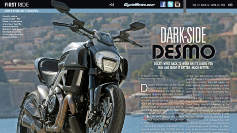 2014 Ducati Diavel First Ride | Ductalk Ducati News | Scoop.it