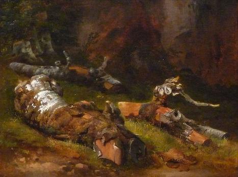 Théodore Rousseau - Artworks | Artistes d'hier, maîtres d'autrefois... | Scoop.it