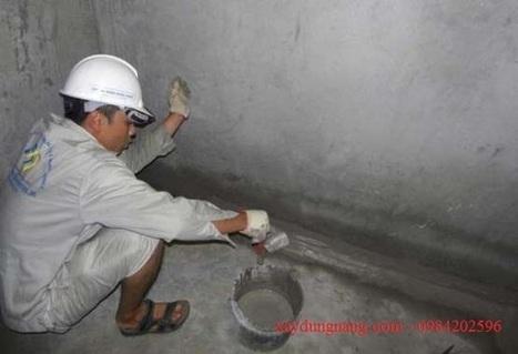 Chống thấm ngược tường nhà, nhà vệ sinh, trần nhà tại tp HCM | Chống thấm hcm | xaydungnang | Scoop.it