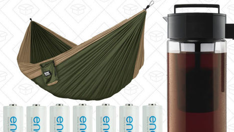 Today's Best Deals: Cold Brew, Eneloops, Beach Chairs, Hammocks | Flash Technology News | Scoop.it