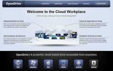 OpenDrive, 5 Gb gratuitos de almacenamiento online y apps para sincronizar todos tus dispositivos | Pedalogica: educación y TIC | Scoop.it