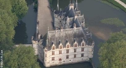 Visite Château Azay-le-Rideau : tourisme & histoire de France, Loire-Châteaux | L'actu culturelle | Scoop.it